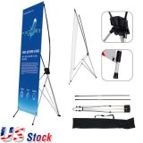 "US Stock-31""W x 71""H Economy Aluminum Foot Tripod X Banner Stand (Stand Only)(10pcs/pack)"