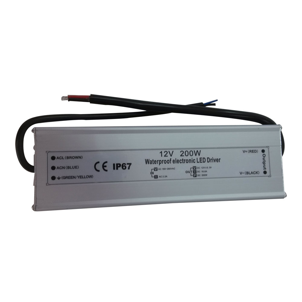 Order Online 12v Ac To Dc Converter Module Power Supply Accessories Led Drivers 200w Ac100v 240v 165a Waterproof Metal Cover Transformer