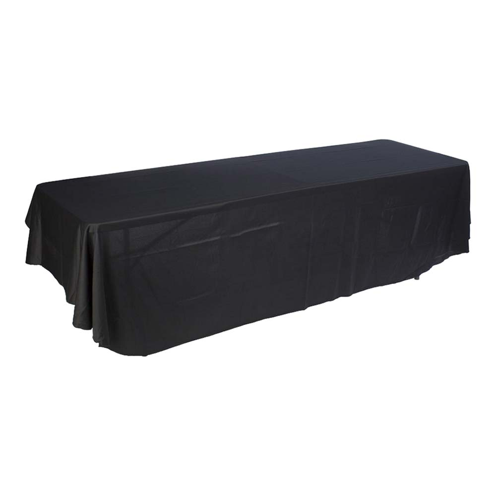 8ft(3) Full Length Sides Rounded Corner Dye-sublimation Table Throws (Multicolor optional)