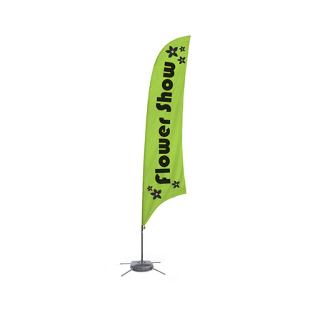 9.8 ft Feather Banner (Double Sided Graphic Only)