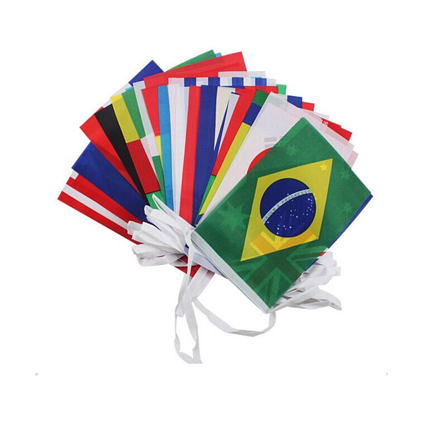 105´ Lenght (0.66´ x 0.98´) Rectangle All countries String Flag