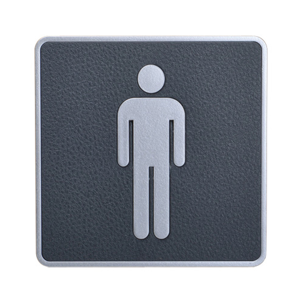 Male, Toilet, Restroom Signs, ABS New Material