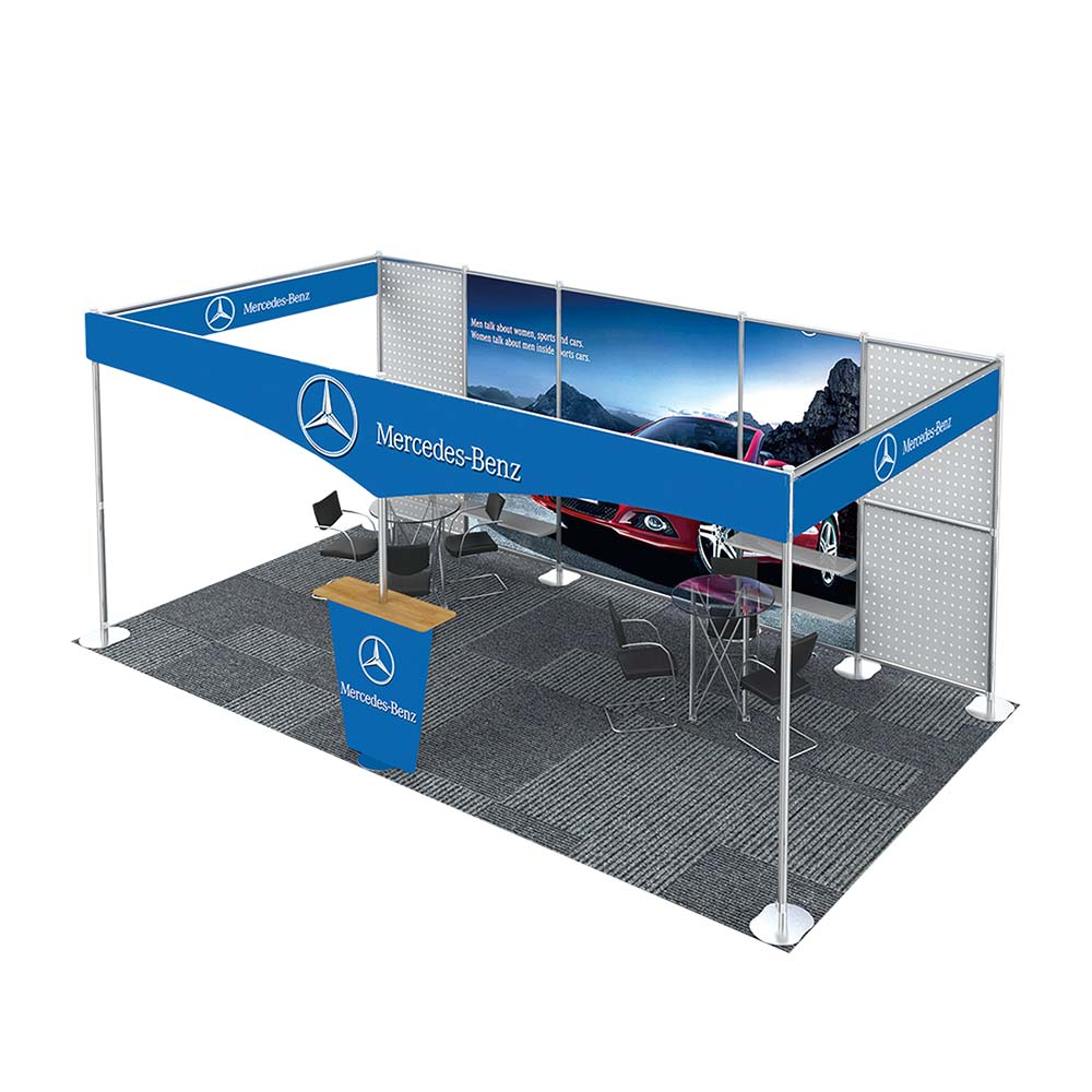 20FT x 10FT Open-Style Combined Exhibition Display System (Third styles)