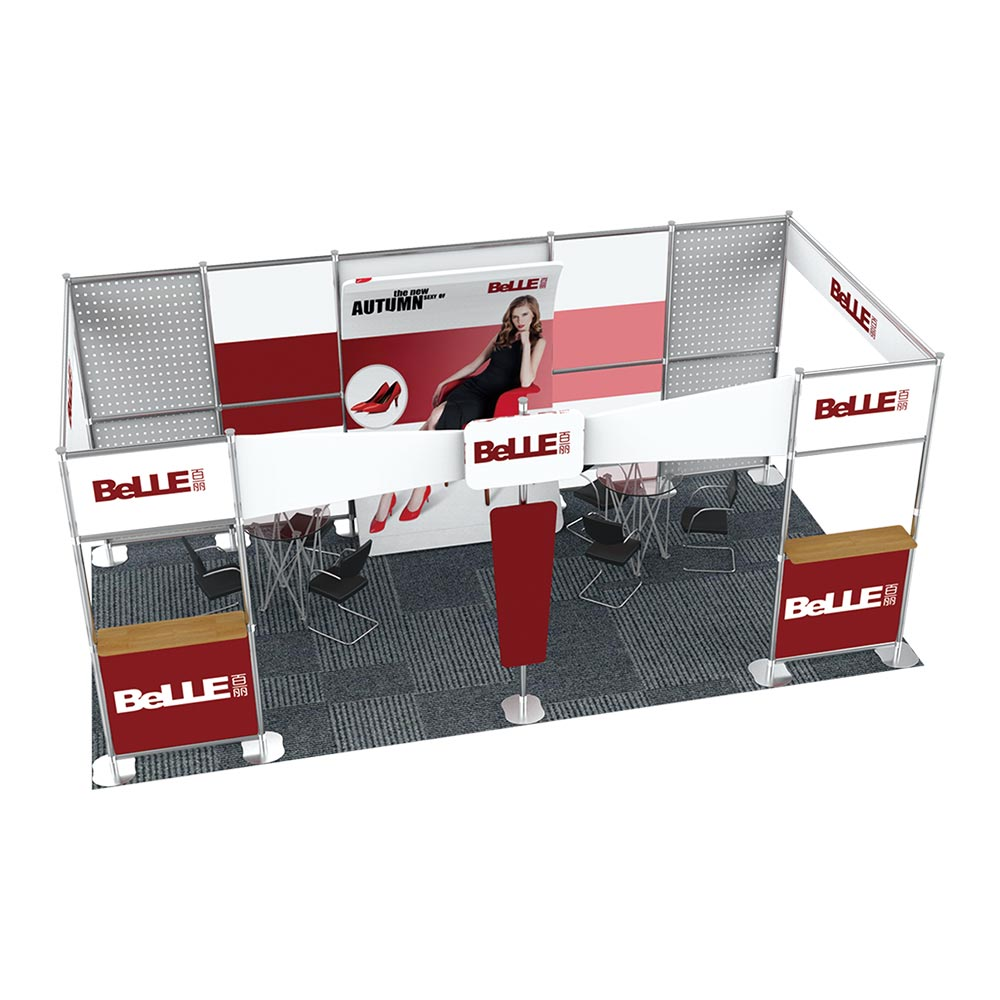 20FT x 10FT Open-Style Combined Exhibition Display System (Fourth styles)