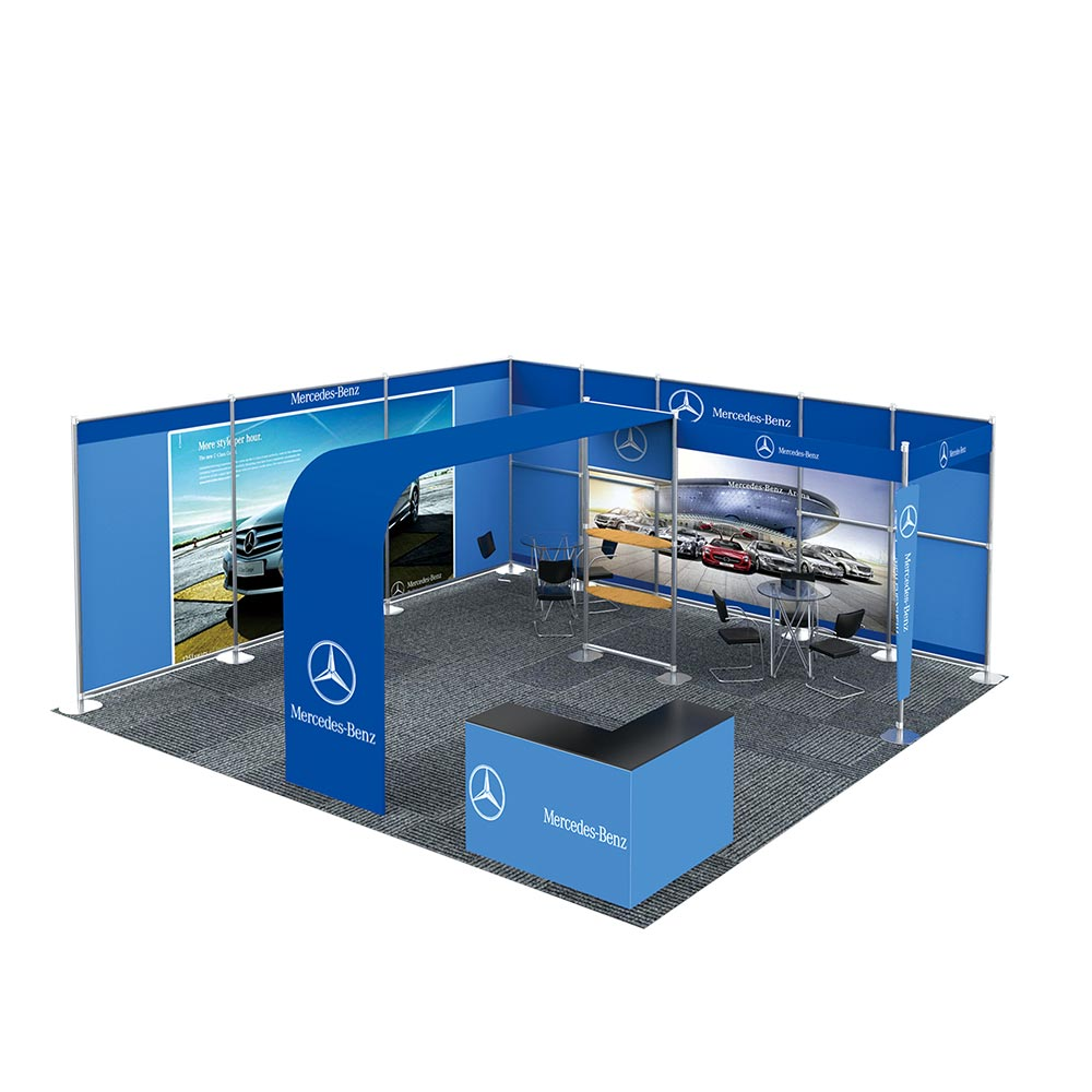 20FT x 20FT NoLuxury Style Trade Show Display System