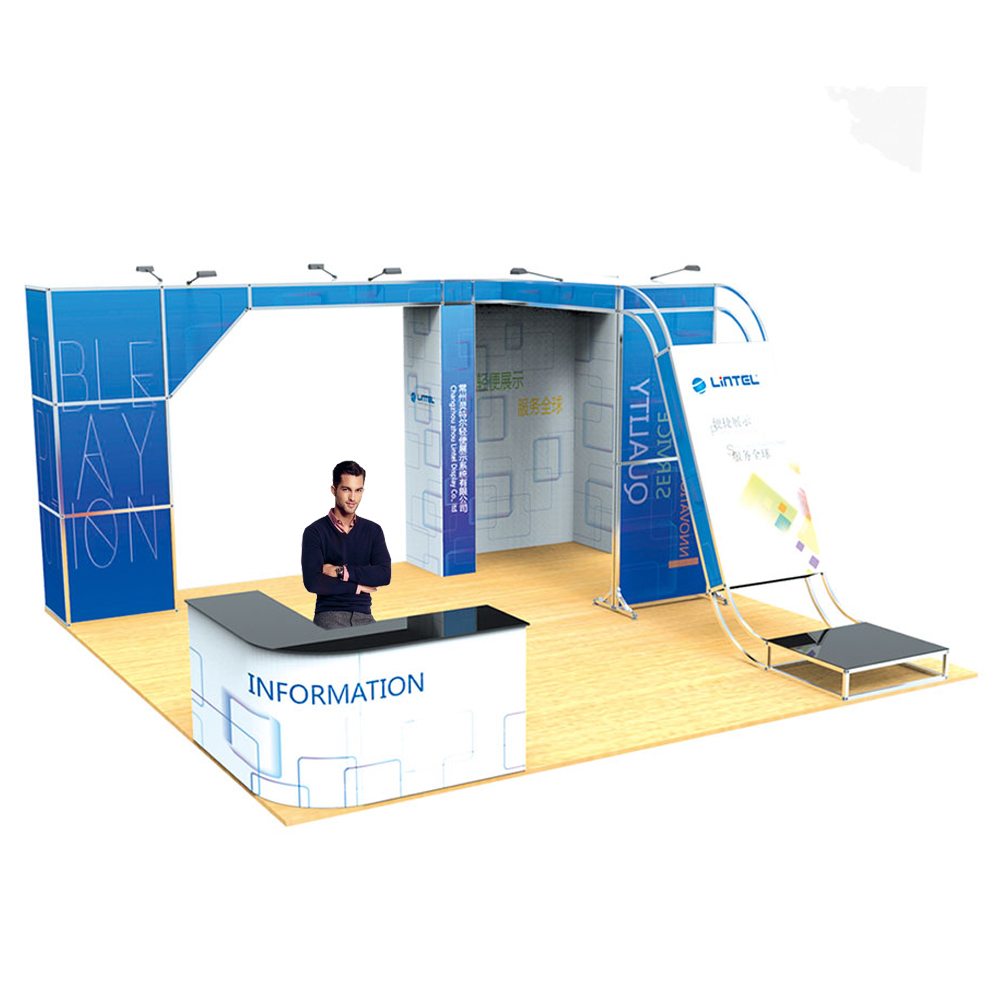 20FT x 20FT No Tool Assembly Modular Trade Display System
