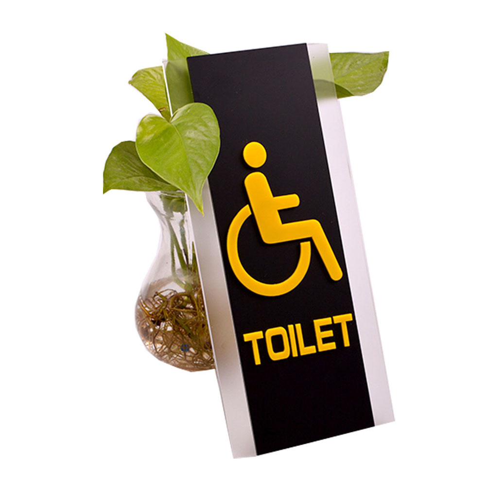 Disabled, Restroom Signs, Toilet Signs