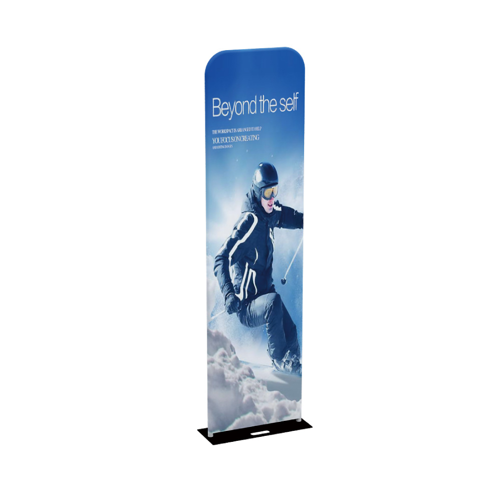 "24""EZ Tube Banner Stand with Custom Prnting Dye Sublimation Graphic"