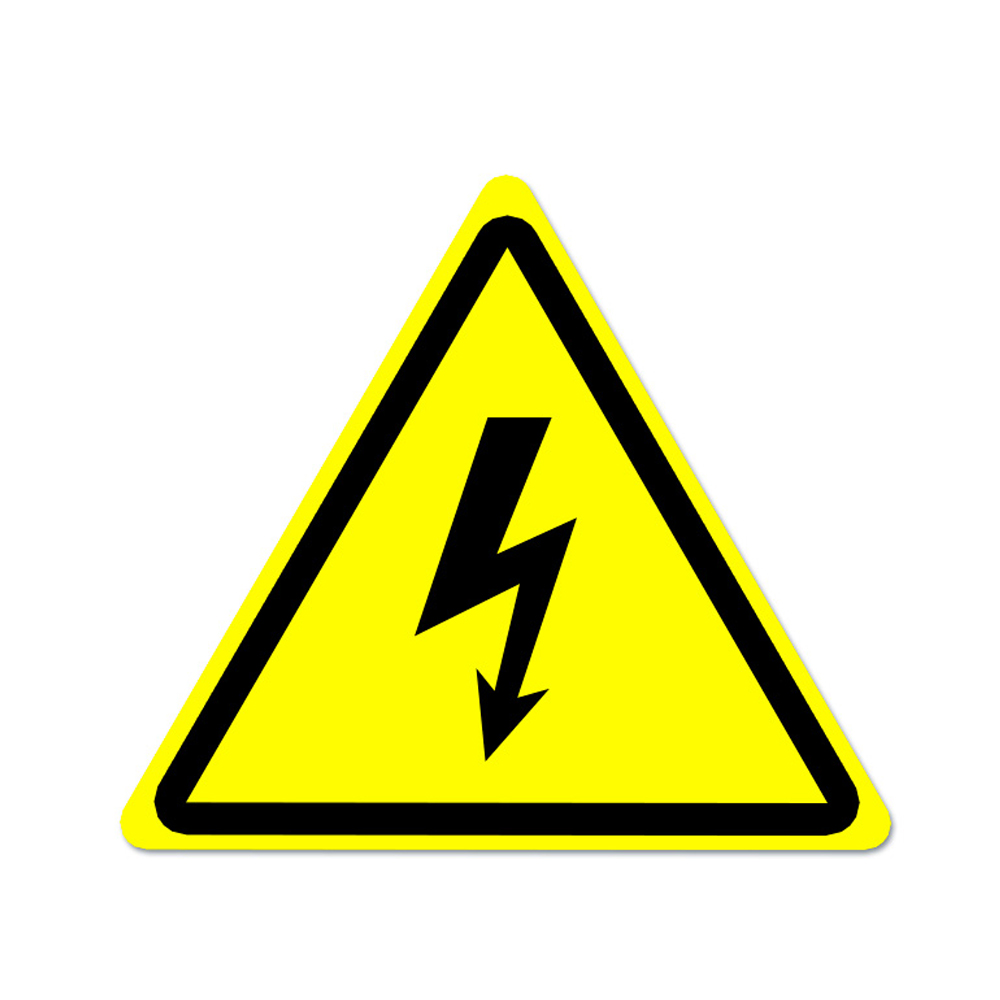 Danger High Voltage Electric Warning Safety Label Sign Decal Sticker
