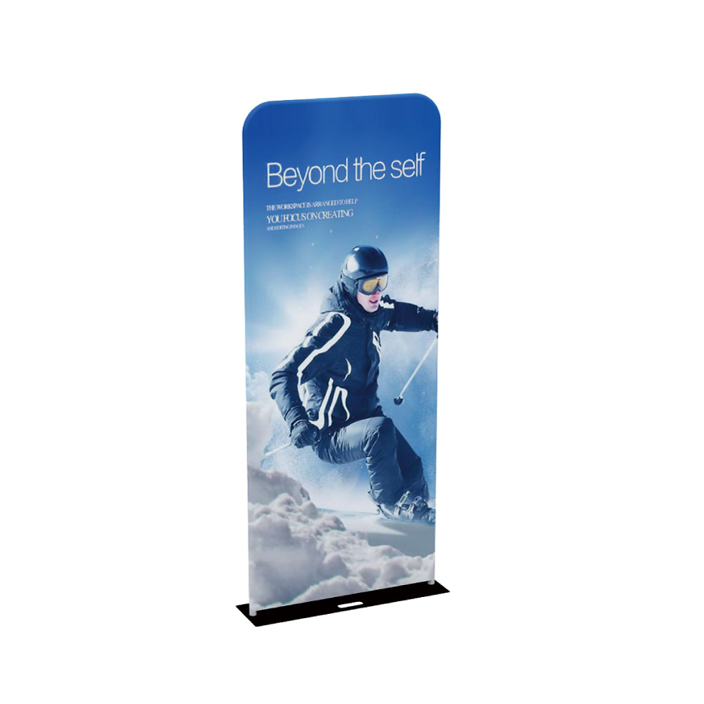 "36""EZ Tube Banner Stand with Custom Prnting Dye Sublimation Graphic"