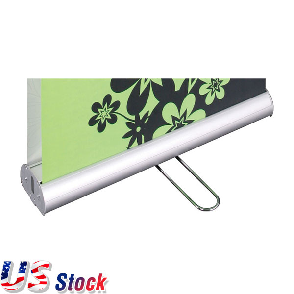 "US Stock-3pcs 33""W x 79""H High Quality Double Sided Roll Up Banner(Stand Only)"