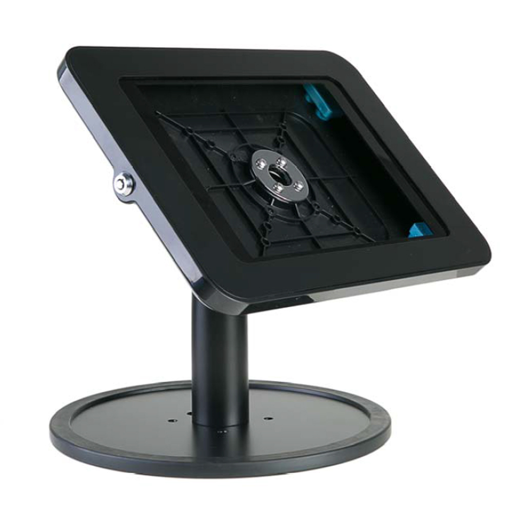 10-FSB Desk Type Tablet Security Kiosk (with Freestanding Base)