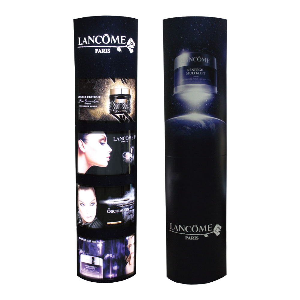 New Foldable Paper Custom Graphics Four-layer Light Box Banner for Trade Show Display Quick Installation