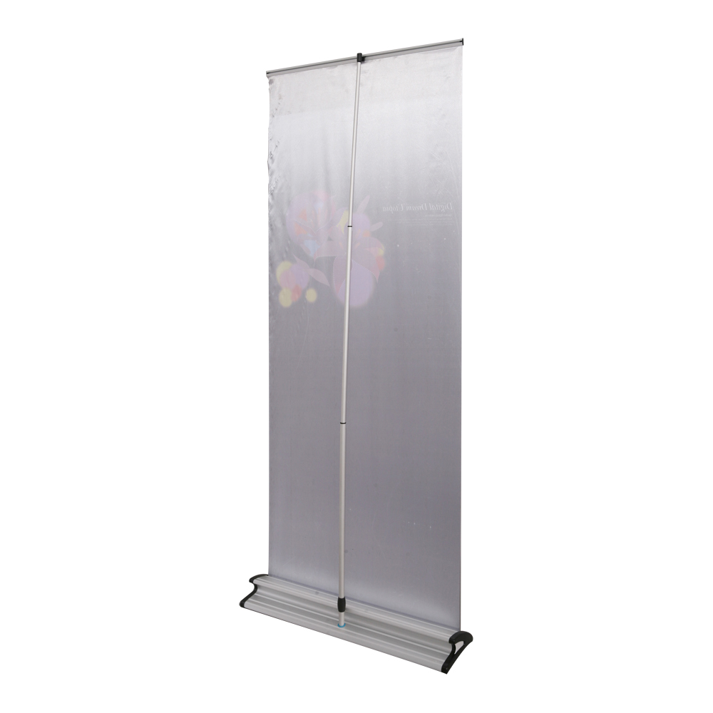 "33"" W x 79"" H V-Shaped Base Roll Up Banner (Graphic Included)"