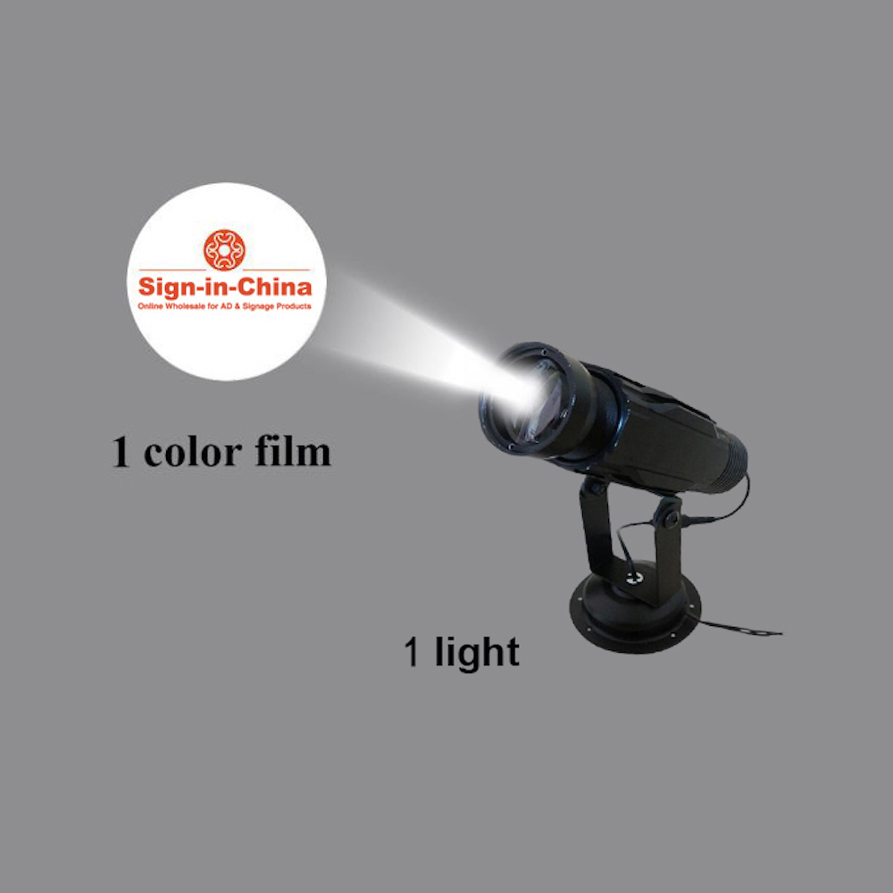 High Quality  30W LED Static Gobo Advertising Logo Projector Light (Single Color)