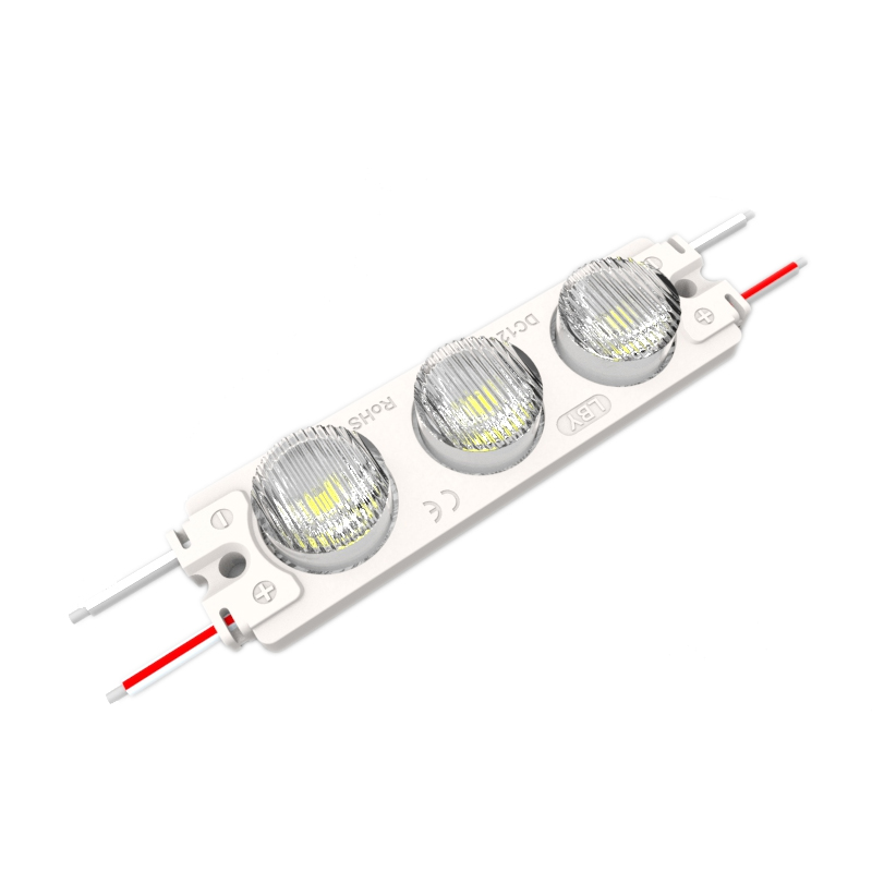 SMD 3030 LED IP68 Waterproof  LED Module ( 3LEDs, 2.5W, L74 x W20 x H9.8mm White Light )