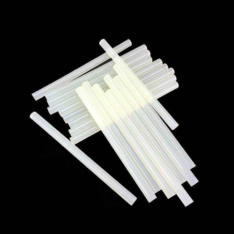 7mm x 250mm High Quality Crystal Clear Strong Adhesive Hot Melt Glue Stick