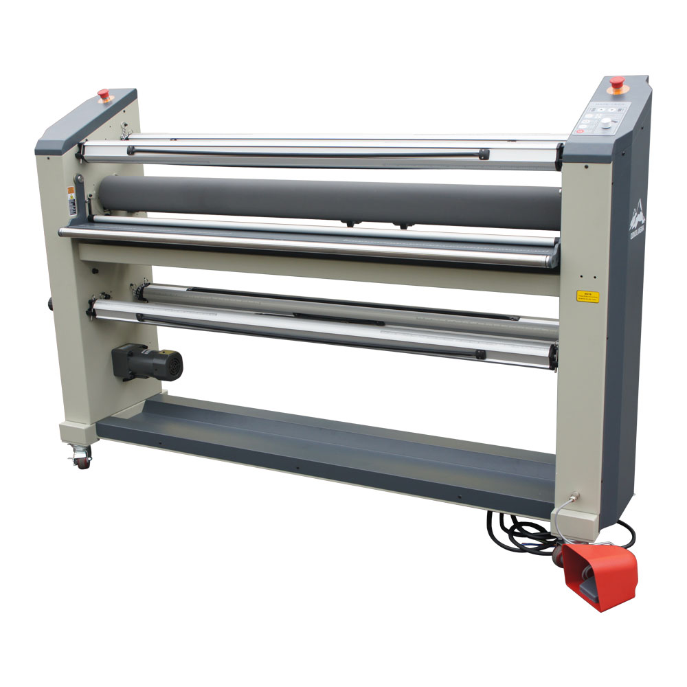 "US Stock, Qomolangma 63"" Heavy Duty Full-Auto Roll to Roll High-End Hot Laminator"
