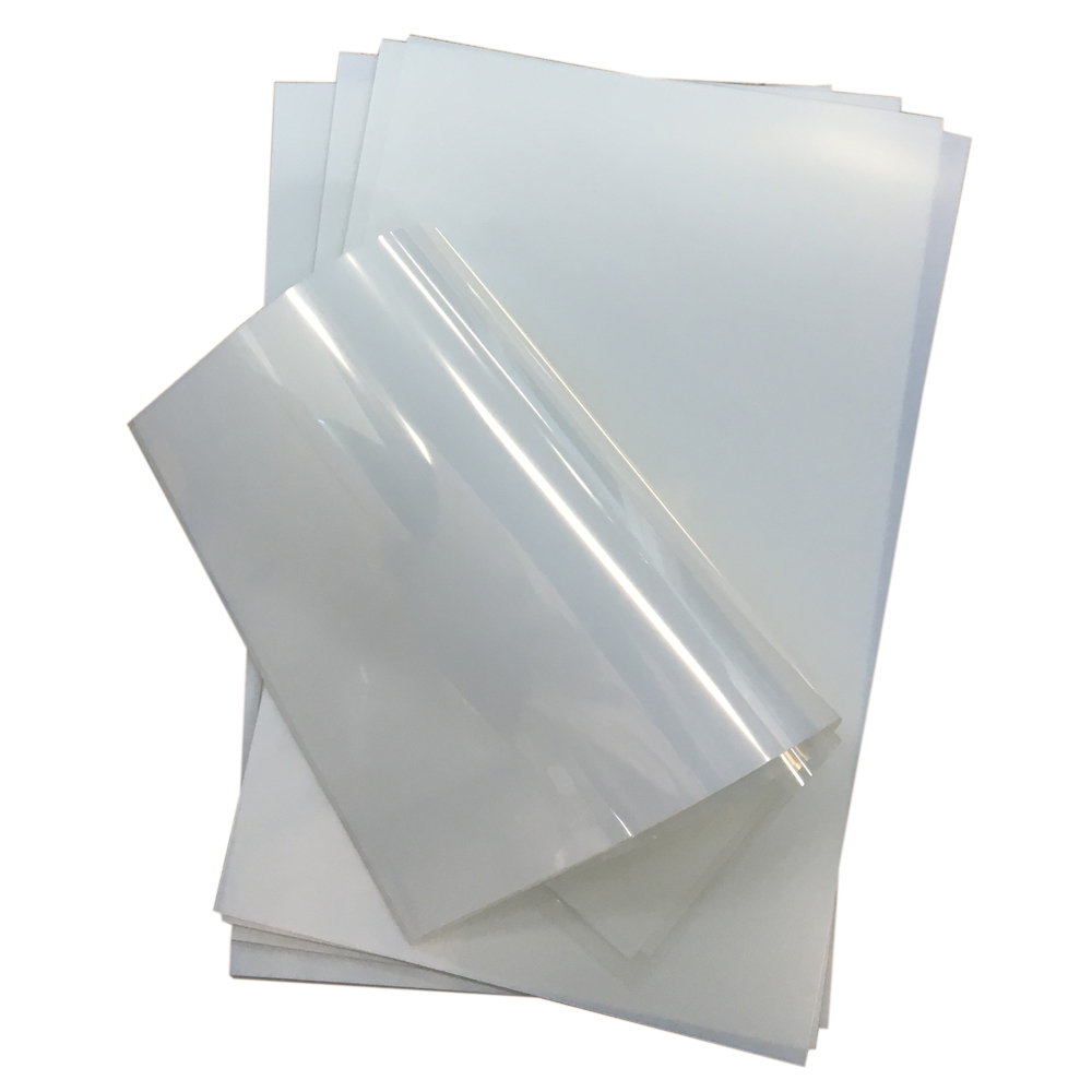"US Stock, 50 Sheets/Pack Premium Waterproof Inkjet Milky Transparency Film 11"" x 17"" for Screen Printing"