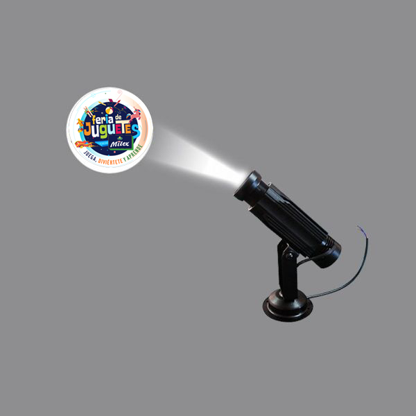 High quality  20W LED Static Gobo Advertising Logo Projector Light (Full color)