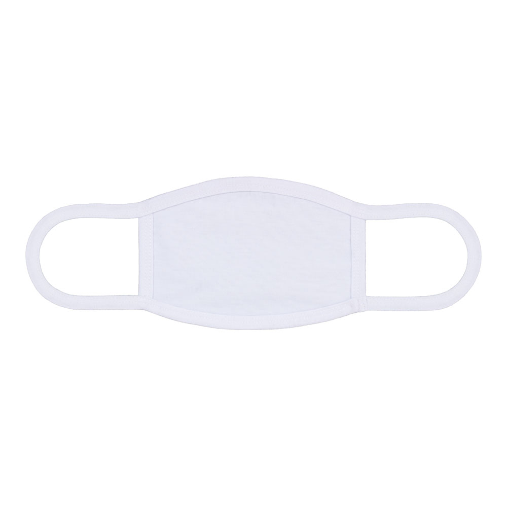 Sublimation Blank Dust Protective Face Mouth Mask With Ear Loop