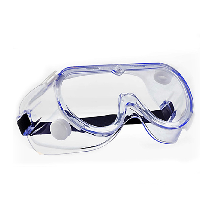 US Stock - 100 pcs Safety Goggles Clear Lens Soft Frame Anti Fog Eye Protection Goggles