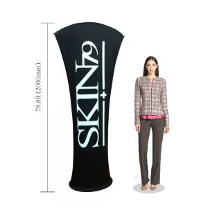 Allure Fabric Tension Banner Stands-Arc Angle