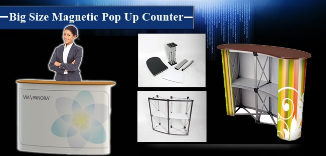 Magnetic Pop Up Counter advertisement