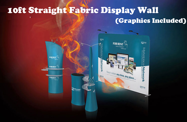 Straight Fabric Display Wall advertising