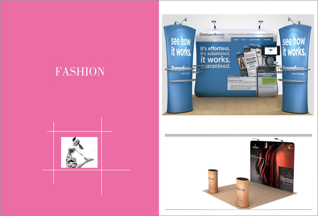 Straight Fabric Display Wall application3