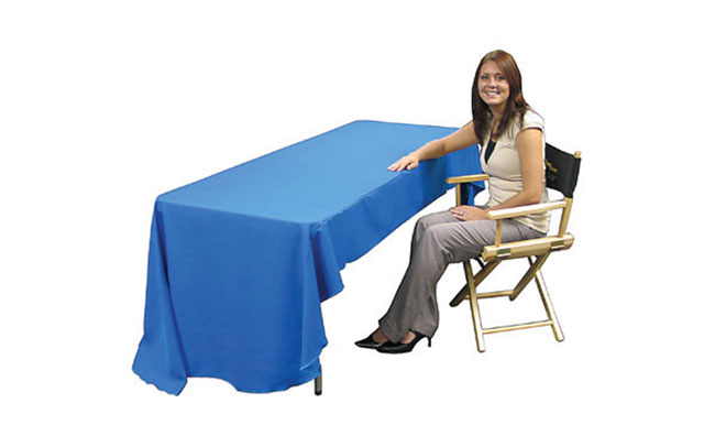 Economy 8ft Printed Table Throw Dye-sublimation Printing
