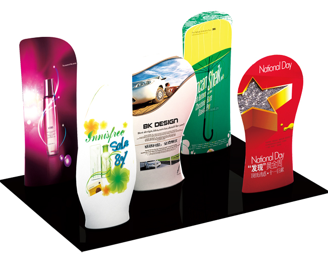 New Allure Fabric Tension Banner Stands(Model Two)