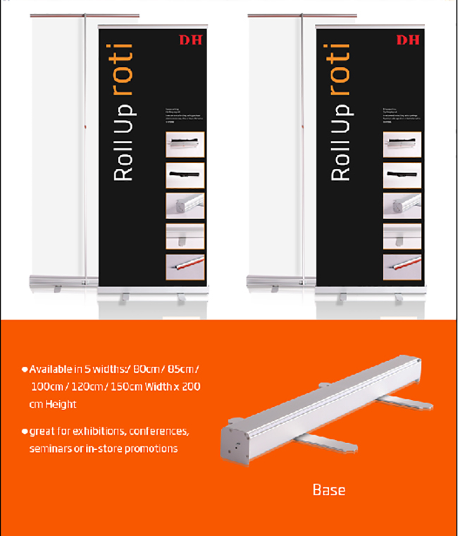 US Stock-Bread type Roll Up Banner Stand