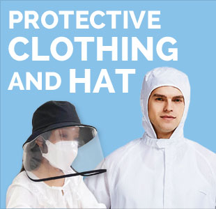 Protective Clothing and Hat